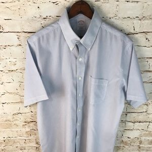 Brooks Brothers Short Sleeve Button Down Shirt